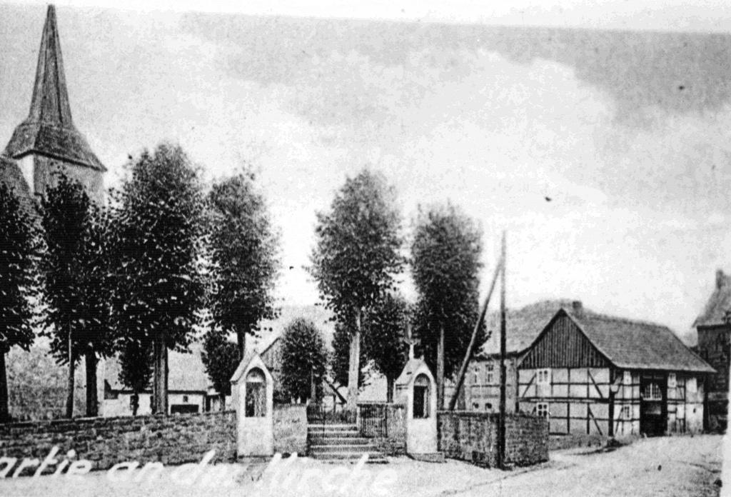 Oberer Kirchzugang, Gaststätte von Heesen 1935