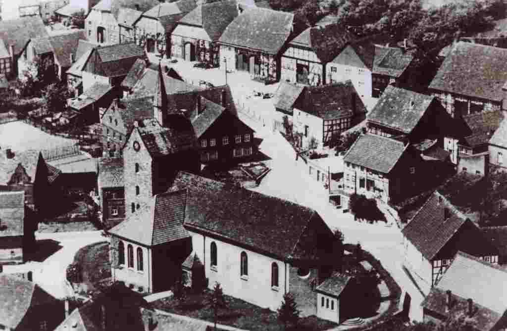 Ortsansicht um 1950