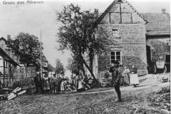 Der Schweinehirt an der Ecke Wachlange / Schratweg 1920